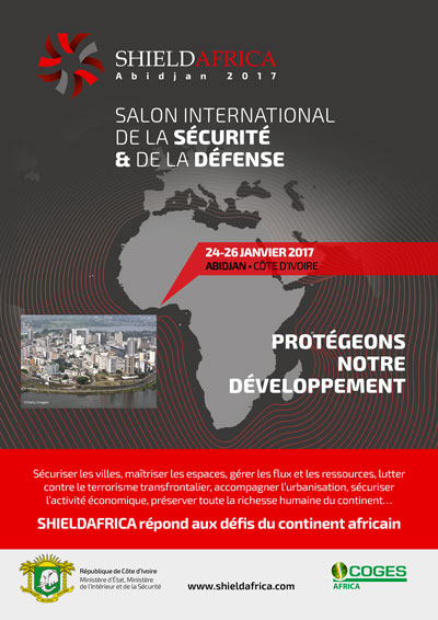 plaquette salon shieldafrica 2017