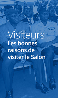 Visiteurs - ShieldAfrica Salon International de la Sécurité et de la Défense