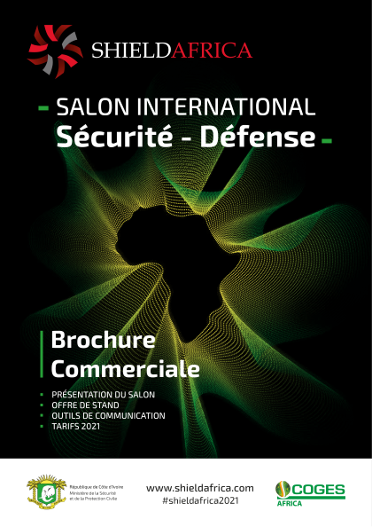 ShieldAfrica Page Exposer - couverture Brochure commerciale SA21