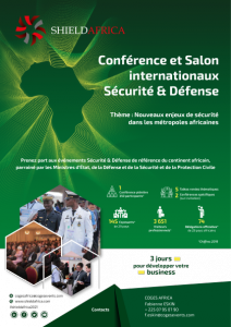 ShieldAfrica Page Exposer - couverture Brochure sponsoring SA21